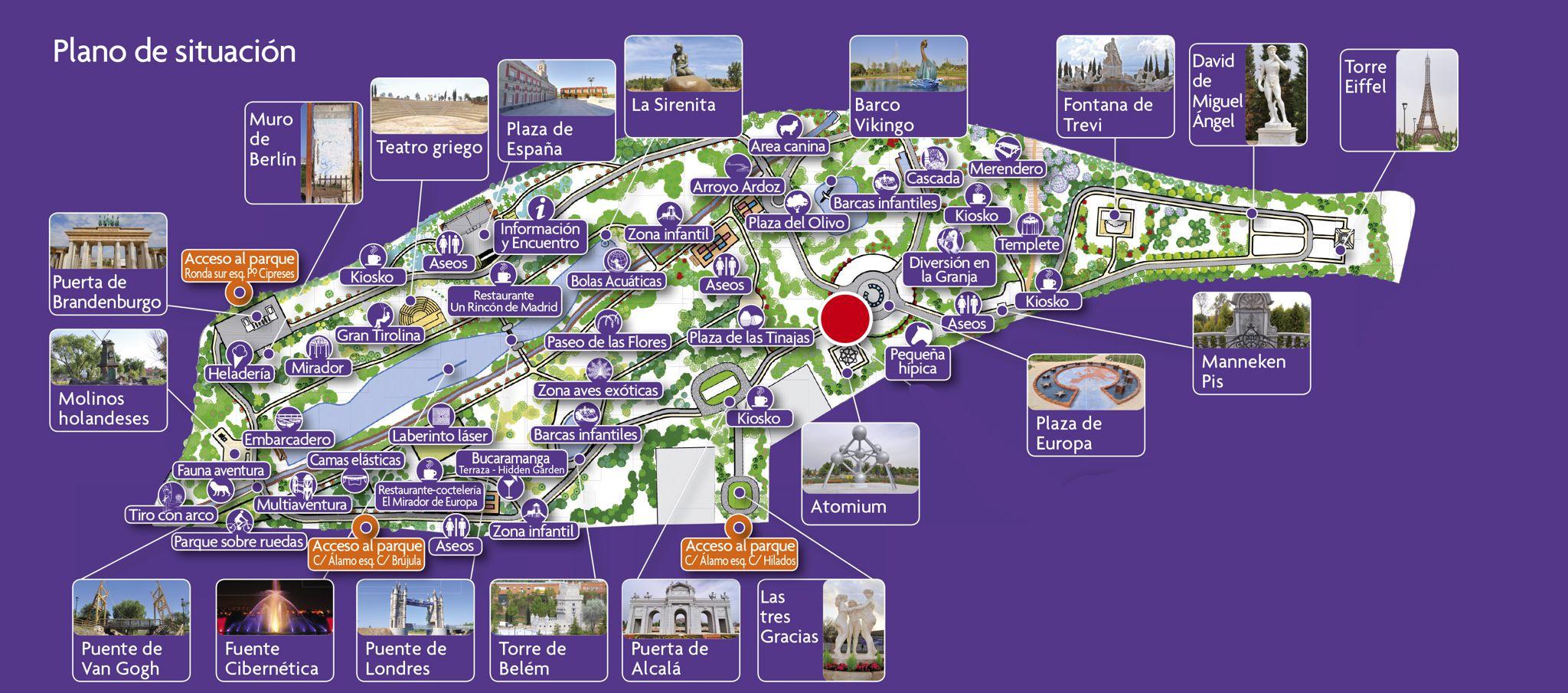 Mapa parque europa my blog for Chalets en torrejon de ardoz